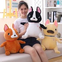 1pc 35-65 Cute Cartoon Dog Plush Toy Stuffed Soft Kawaii Animal Pillow Lovely Gift for Kids Baby Children Good Quality