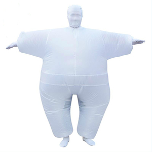 Image 4 - Adult Anime Cosplay Chub Inflatable Costume Blow Up Color Full Body Paty Costume Jumpsuit 9 Colors Halloween Cosplay Costumes