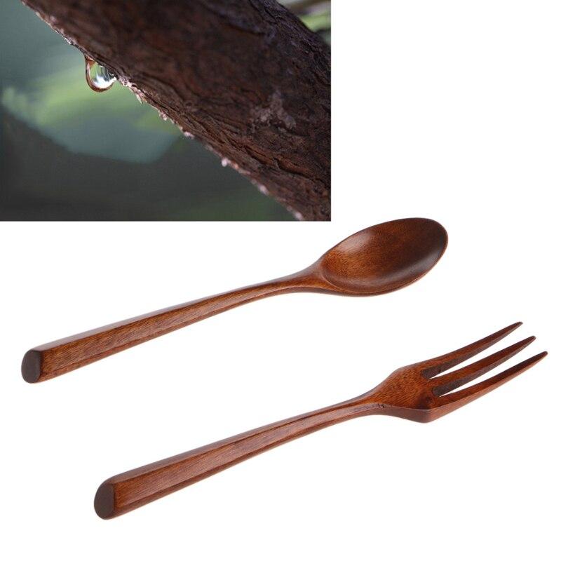 utile eco friendly forchetta di legno utensile attrezzo della cucina maniglia creative innovative craft cooking