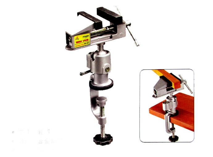 Heavy Duty Tabletop 3 Swivel Vise and table vise bench for watch font b Jewelry b