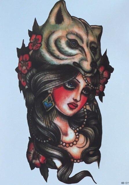 5 Designs Lot Tattoo Sleeve Body Art Waterproof Temporary Tattoos