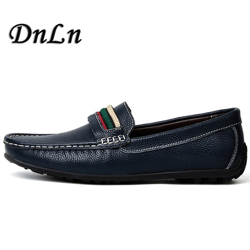 Fashion Men Shoes Leather Men   Loafers Moccasins Slip On Driving Comfortable Soft Handmade Men Loafers D30 mapleliz brand breathable slip on solid moccasins shoes for men full grain leather high quality driving soft flat men shoes
