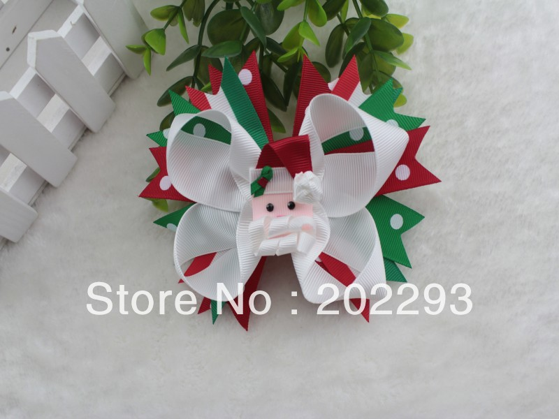 christmas hair bows 2016 hot selling in Hair Accessories from Mother Kids