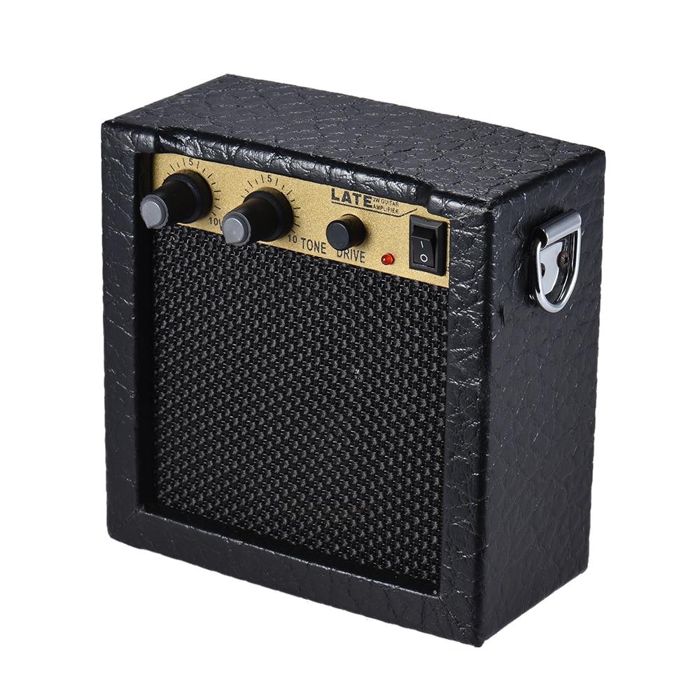 buy battery powered mini guitar ukelele amplifier speaker high sensitivity 3. Black Bedroom Furniture Sets. Home Design Ideas