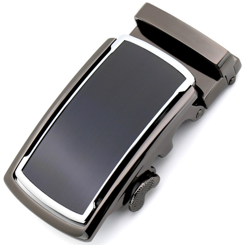 Fashion Men's Business Alloy Automatic Buckle Unique Men Plaque Belt Buckles For 3.5cm Ratchet Men Apparel Accessories LY188951