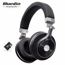 Bluedio T3 Plus wireless Bluetooth auriculares auriculares inalámbricos con micrófono/micro ranura para tarjetas SD auricular bluetooth para el teléfono de la música