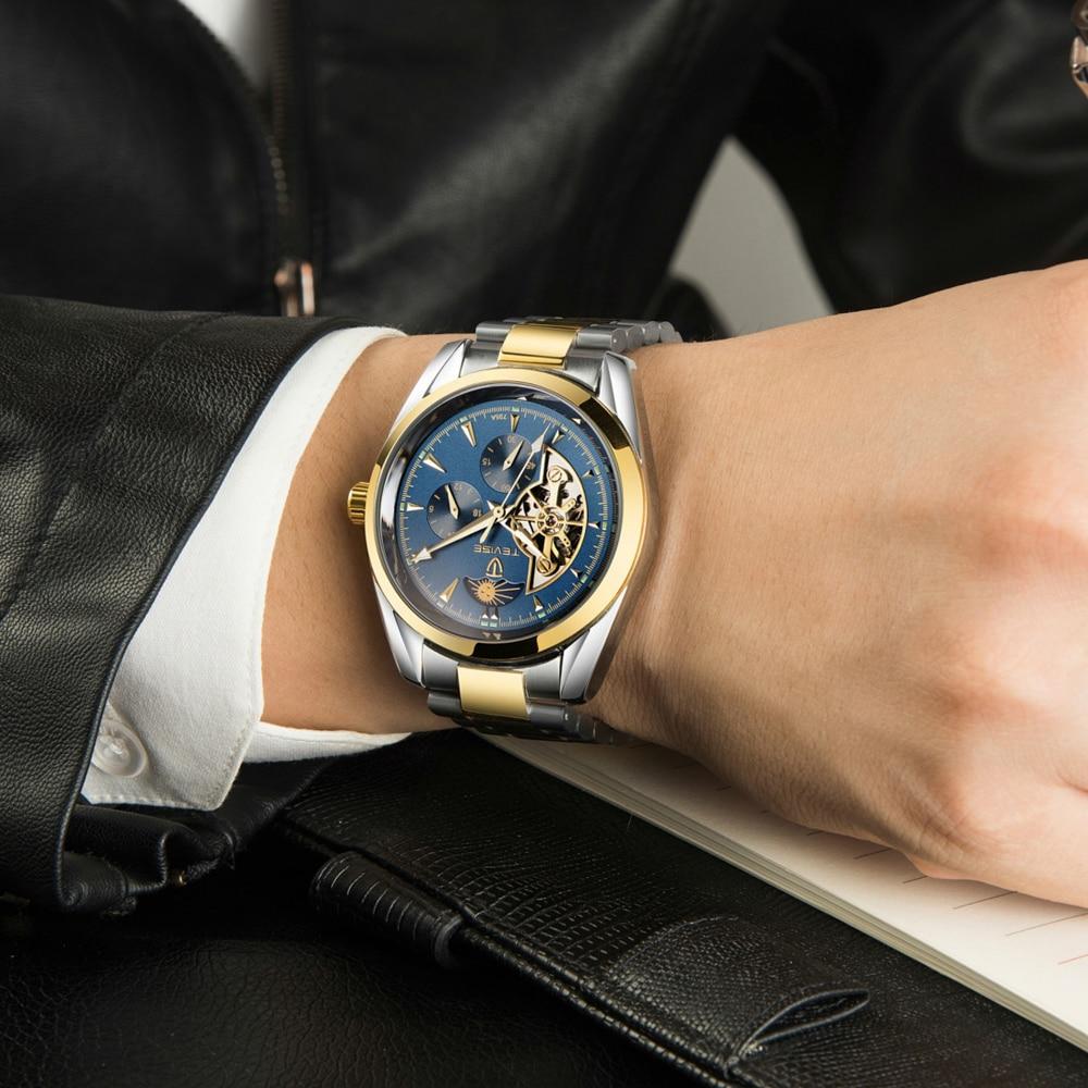 Männlichen Uhren Colon Automatische 14