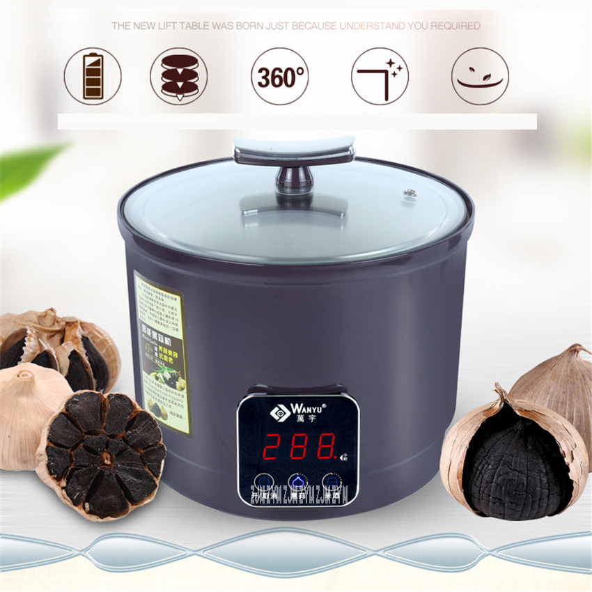 6L Intelligent Touch Screen Fermenting Black Garlic Machine For Household And Commercial Food Processor With Off Memory DFTZ-213 amelia jeanroy fermenting for dummies
