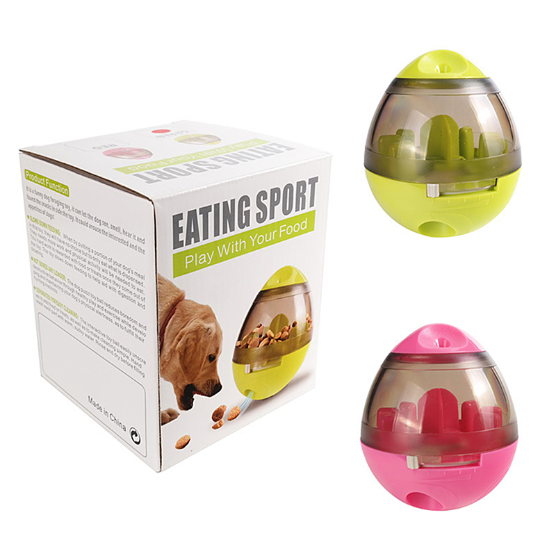 Pet cat dog toys Interactive Feeding Cat Dog PET toy feeding Interesting pet products dog ball toys for dogs toys for cats bowl in Dog Toys from Home Garden