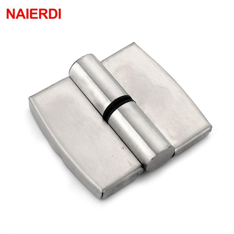 NAIERDI Bathroom Partition Stainless Steel Door Hinge ...