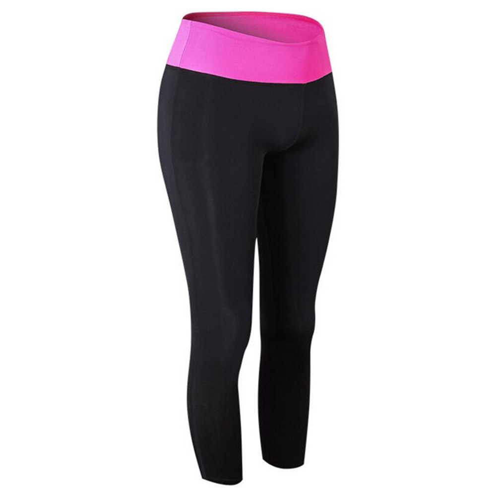 2018 Women Yuga Trainning Pants High Flexible Sport Tights Sweat-absorbent Breathable Tights Exercise Gym Pants Quick Dry Suit