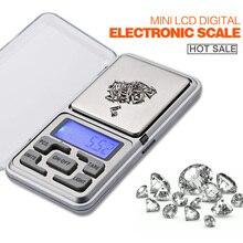 Взвешивания бриллиантами баланс карманные вес цифровые мощности весы жк электронный электронные