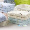 Envío gratis pequeña toalla 100% algodón suave y absorbente toalla toalla de los niños 27 x 52 cm 50 g