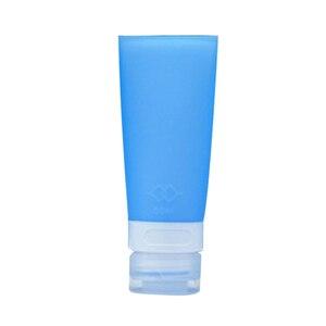 Image 4 - 38/60/80ml Silicone Portatile Mini Bottiglie di Viaggio Colorato Vuoto Tubo Trasparente Crema Cosmetica Contenitori Lozione Riutilizzabile bottiglie