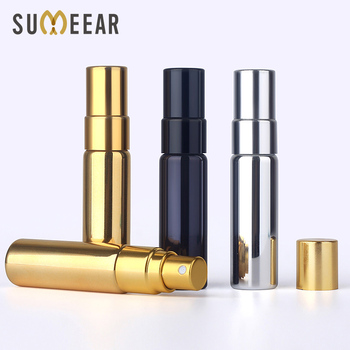 50pieces/lot 5ml Portable Perfume Bottle Spray Bottles sample empty containers atomizer perfume Mini refillable bottles 3 colors 10ml mini portable refillable perfume atomizer spray bottles empty bottles cosmetic containers bottles gifts wlw27