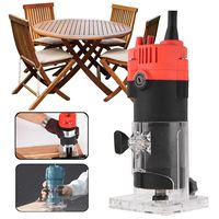 600W 6mm 1 4 Electric Hand Trimmer Wood Laminator Router Joiners Tool 220V 30000 Rpm