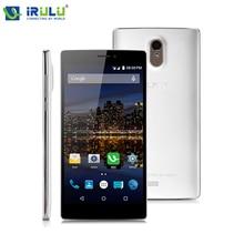 """Irulu победы V3 6.5 """" IPS HD MSM8916 Android 5.1 поддержка Google играть четырехъядерных процессоров 1 ГБ / 8 ГБ BT4.1 две SIM карты LTE 4 г смартфон чехол горячая"""