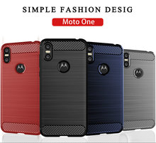 for Motorola One Android One Silicone Armor Bumper Shockproof Cover Phone Cases for Motorola One Android One Cases Fundas цена