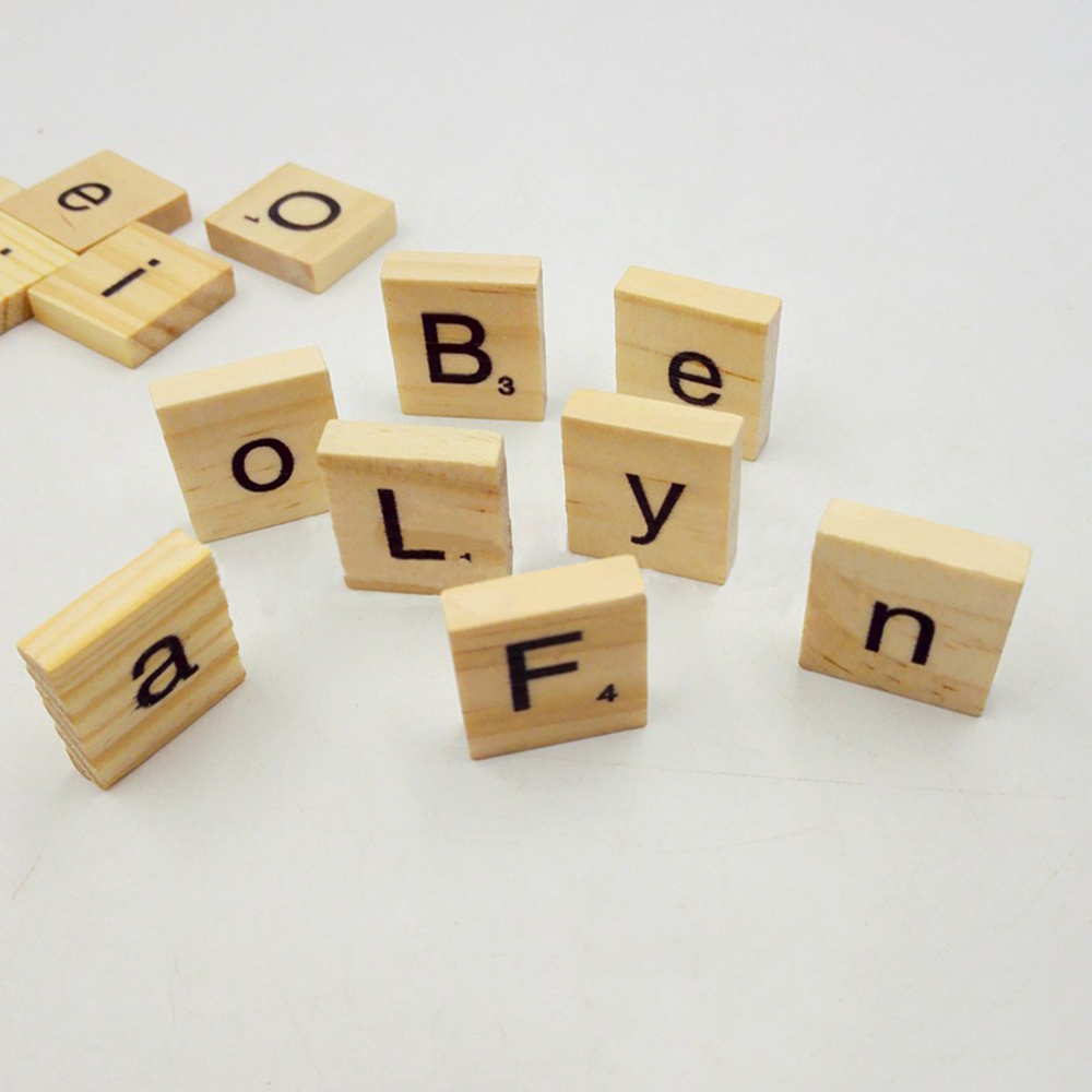 Popular scrabble board letters buy cheap scrabble board for Wooden letters for crafts