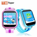 Toper q750 kids gps smart watch relógio de pulso do bebê com wifi tela sensível ao toque de 1.54 polegada chamada sos localização rastreador anti-lost monitor de gps