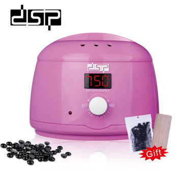 DSP  Mini SPA Hand Epilator Feet Paraffin Wax Electric Machine Body Depilatory Professional LCD Display Warmer Wax Heater wax warmer heater mini spa machine paraffin pot hair removal 4pcs kit 100g wax bean professional hand feet body depilatory eu pl