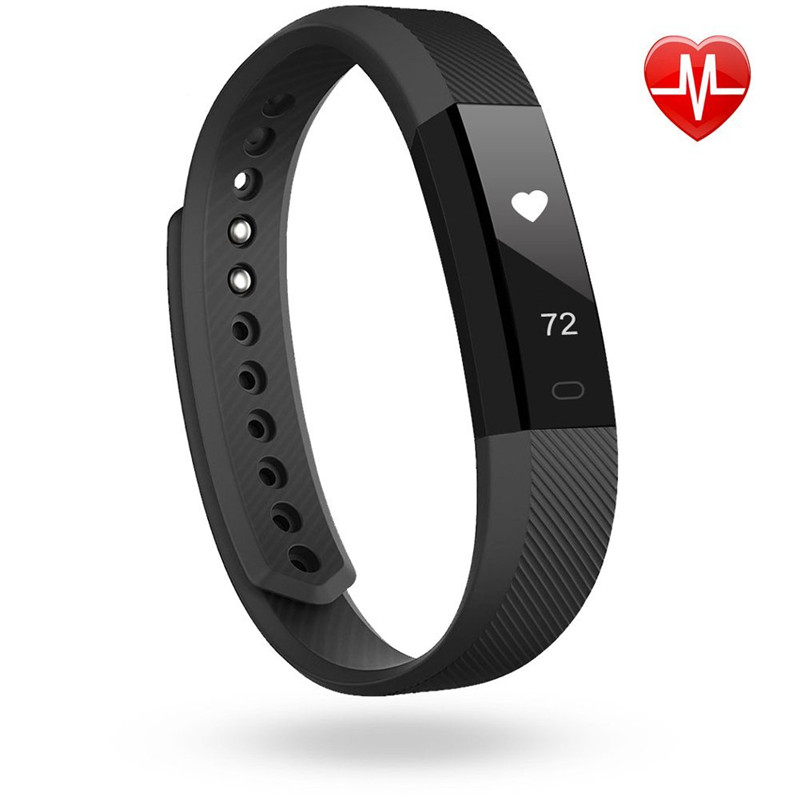 все цены на Hembeer Pulsometer Watches Fitness Bracelet ID115 Heart Rate Monitor Smart Band Fitness Watch Pedometer Smartband pk fitbits онлайн