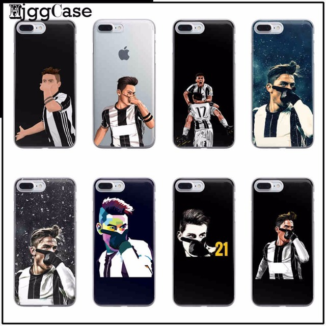 san francisco f2294 2b8ca US $0.91 37% OFF|Sport Football Soccer Star Juventus Paulo Dybala plastic  hard Cover For Apple iPhone 7 5 5S SE 6 6S Plus 7Plus Phone case Cove-in ...
