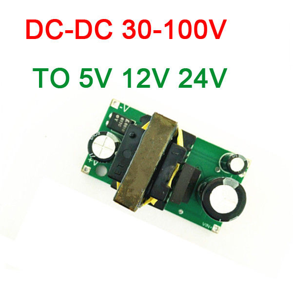 DYKB DC-DC Buck Converter DC 24V-100V 36V 48V 64V 72V 84V 96V To 5V 12V / 24V 2A Step Down Power Supply Module VOLT Regulated