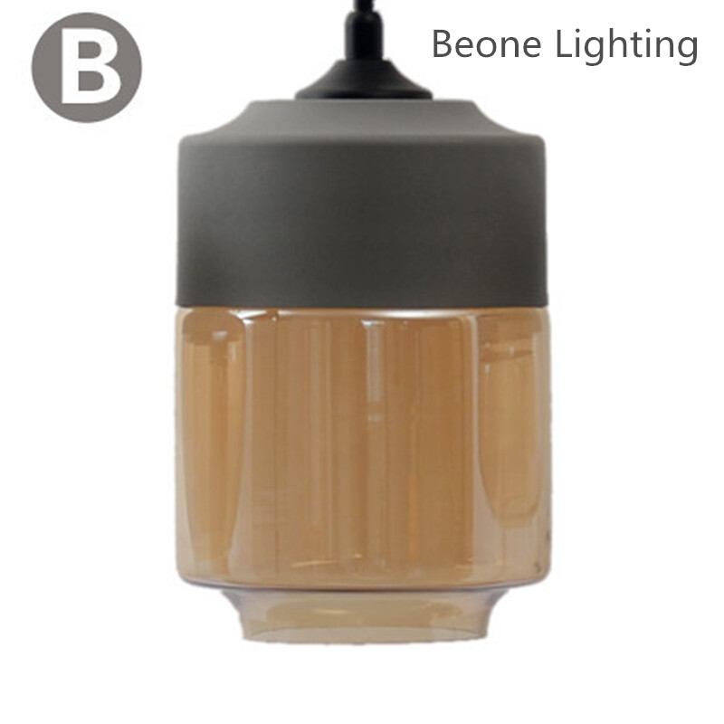 Free Shipping Grey w Amber Plated Glass Pendant Light lamp e27 led Dining Room Kitchen Cafe Bar Shop Home glass pendant Lighting factory cheap amber smoky gray red coffee blue glass pendant lamp pendant light edison bulb bedroom dining room cafe kitchen bar