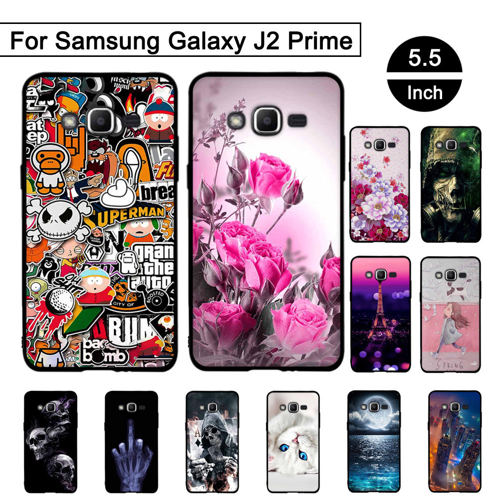 Cellphones & Telecommunications Izyeky Case For Samsung Galaxy J2 Prime Lovely Cartoon Starry Sky Moon Soft Cover For Samsung Galaxy J2 Prime G532f 5.0
