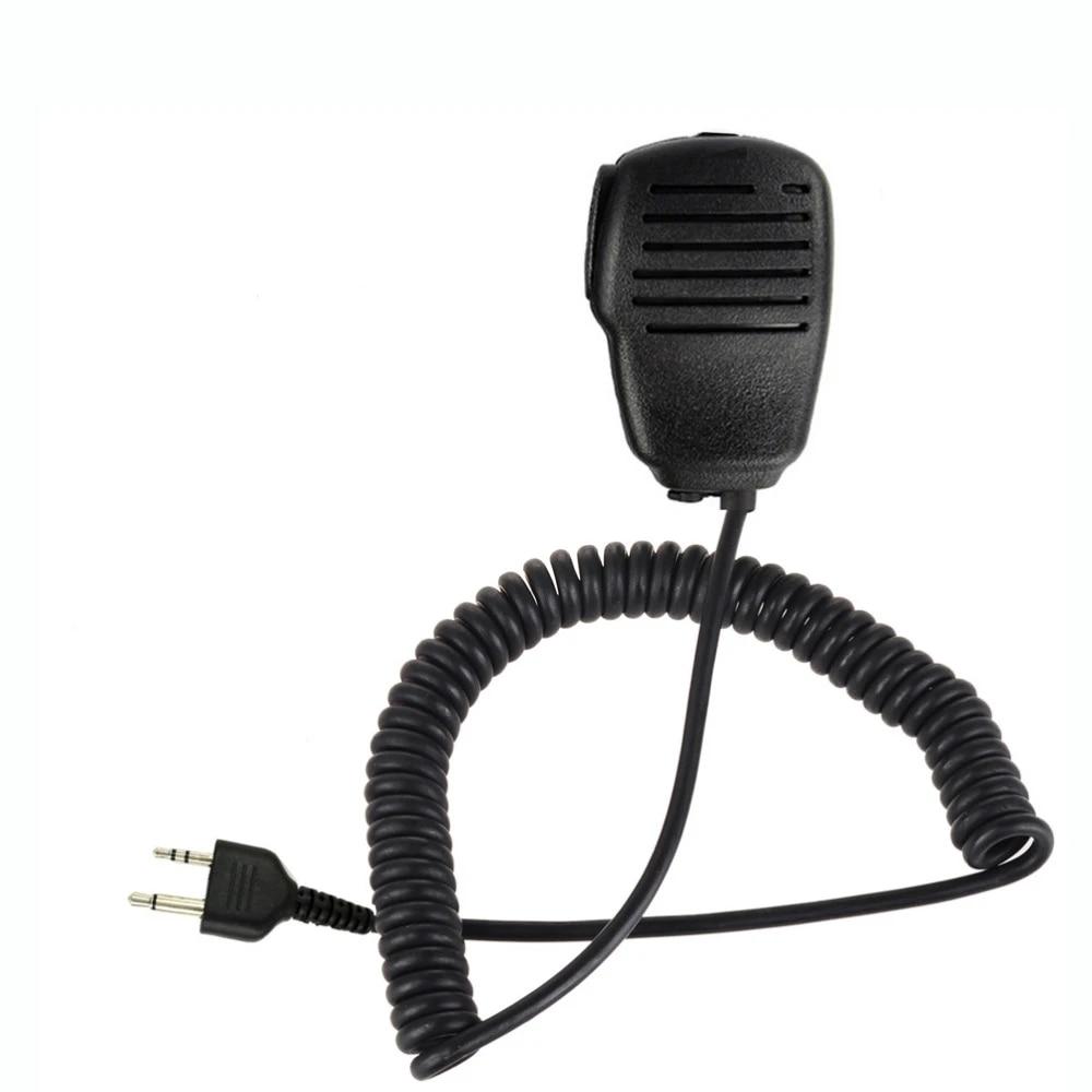 2Pcs Handheld Shoulder Speaker Mic Microphone for Midland Radios GXT//LXT Series