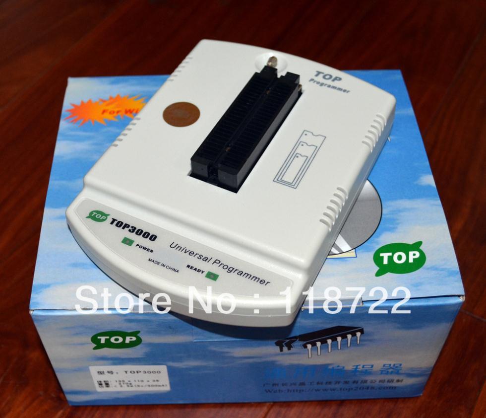 2013 Newest TOP-3000 TOP3000 USB universal programmer EPROM MCU PIC ,Writer Duplicator Burner