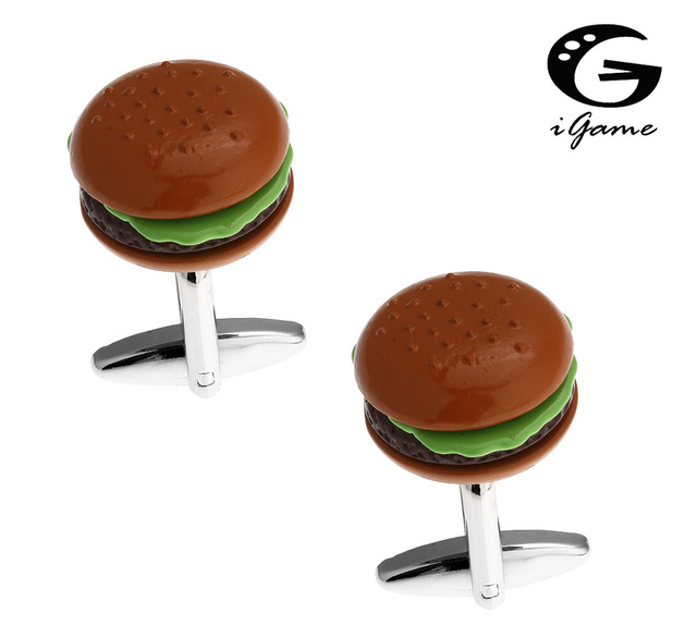 Igame Cuff Links Brass Material Novelty Design