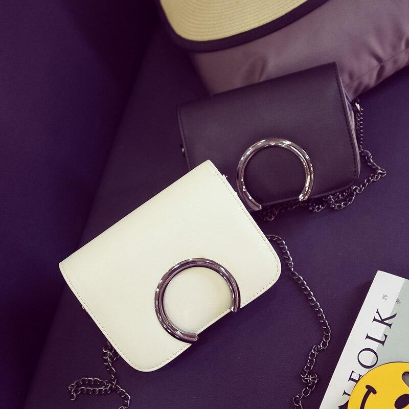 Бесплатная доставка, 2018 новые женские сумки, цепи моды клапаном, полукруг блестками женская сумка, корейской версии Сумка