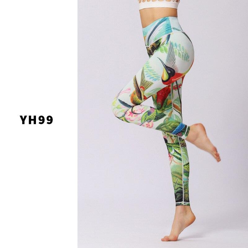 9f4516238f6ba Αγορά Γυμναστήριο & body-building | Women Slim Print Yoga Pants ...