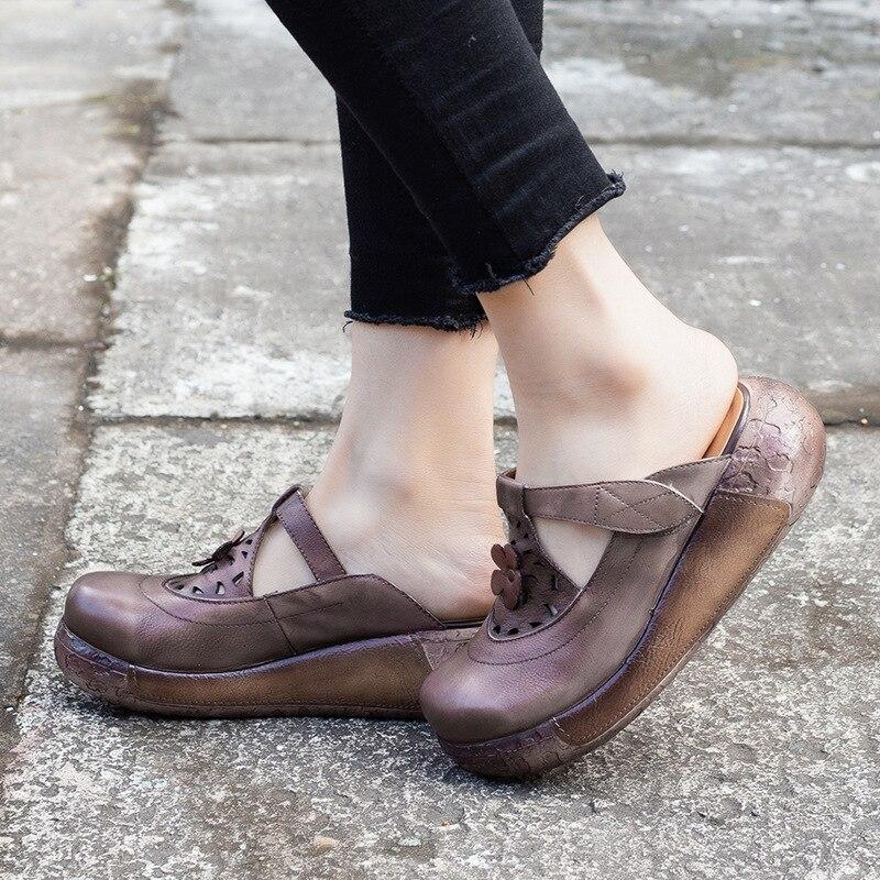 Fleur La Cuir Jaune Chaussons Pantoufles Mules Cm Chaussures Hauts wm8Nn0vOy