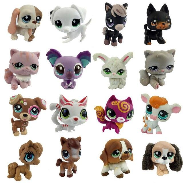 Littlest pet shop spot motif chien mignon lapin rose chat renard violet poney cheval violet - Petshop cheval ...