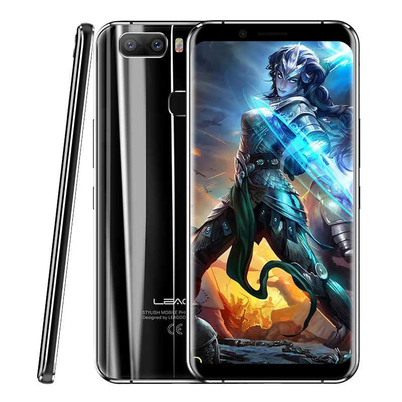 LEAGOO S8 Pro 5 99 Bezel Less 18 9 Screen 4G Smartphone Touch ID Android 7