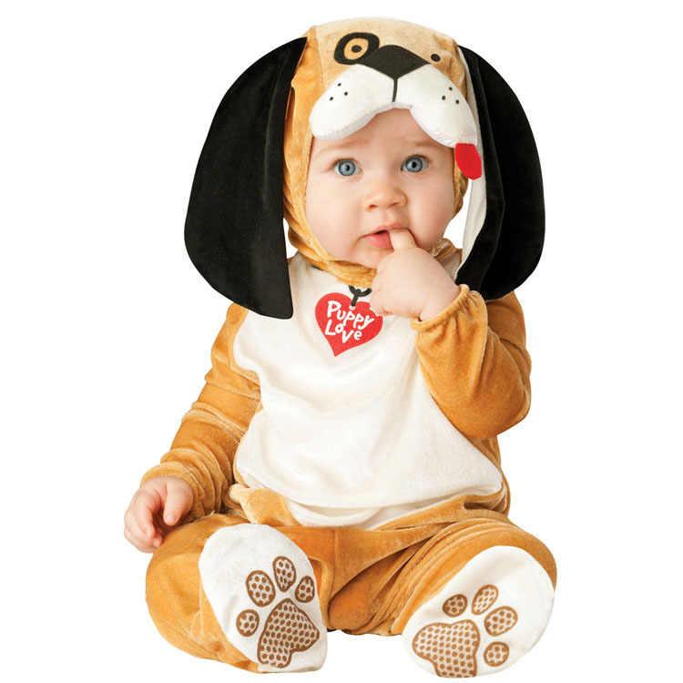 2019 г. Лидер продаж, карнавальный Рождественский костюм Navidad на Хэллоуин комбинезоны с изображением Льва для маленьких девочек, маскарадная Одежда для новорожденных