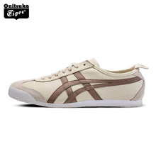 Фотография Onitsuka Tiger MEXICO 66 2018 New Unisex Sneakers Men Classic Sports Shoes Women Breathable Hard-Wearing Athletic Shoes D4J2L