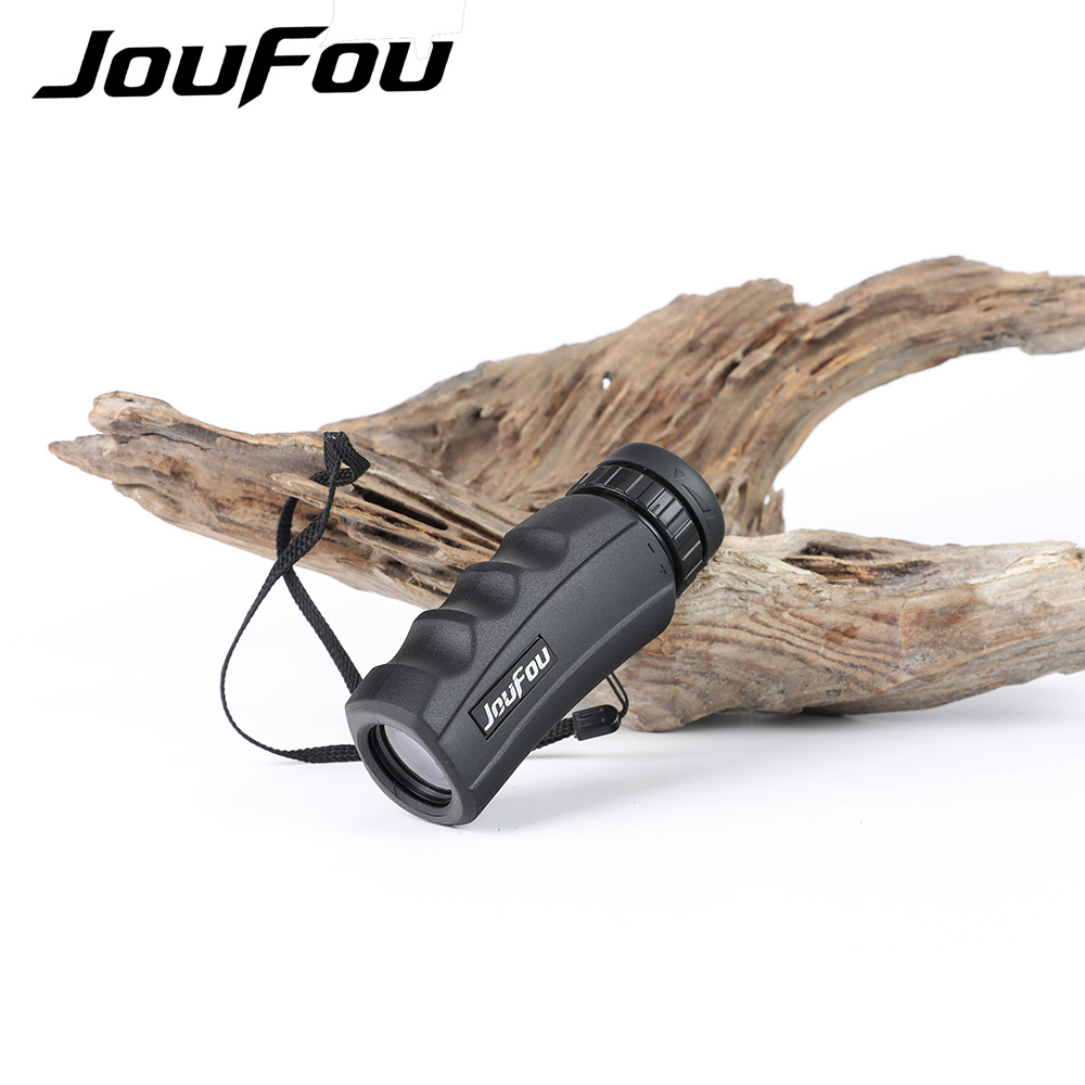 JouFou 10X25 Mini Monocular High Quality Waterproof  Hunting Telescope Outdoor Sports For Games Hiking Travel
