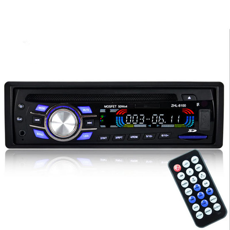 60 Watts x 4 Car Radio Stereo Player Bluetooth 1 Din AUX-IN MP3 FM / USB 12V Car Audio Car Electronics Car FM Radio Audio Video