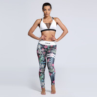 High Quality Women Legins Mandala Ombre Floral Printing Legging Fashion High Waist Woman Leggings Mujer