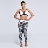 Wysokiej Jakości Kobiety Ombre Mandala Floral Drukarnie Legginsy Legging Wysokiej Talii Moda Kobieta Legginsy Mujer Miękkie Legginsy Dziewczyny