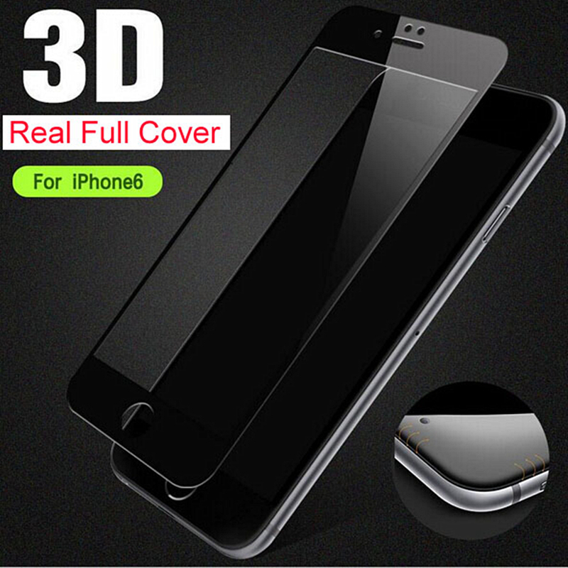 for iphone 7 3D curved edge full cover mobile phone font b tempered b font font