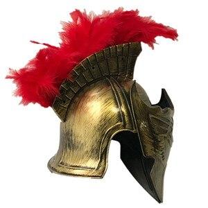 Image 2 - Cos masquerade helmet spartan warrior hat Roman hat Spartacus samurai hat