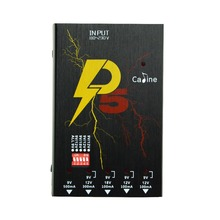 New Arrival Caline P5 True Isolated Pedal Power Supply 5 Isolated Outlets 110V-120V 220V-240V Caline P5 9/12/18V Effect Power caline p6 guitar effect pedals power supply 8 isolated outputs 110v 120v 220v 240v dc 9v short circuit protection led indicator