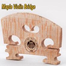 Nagelneues Freies verschiffen Echte Christina Violine Brücke Größe 4/4 3/4 high grade feine Ahorn, made in Italy 1/2 1/4 1/8 für violine