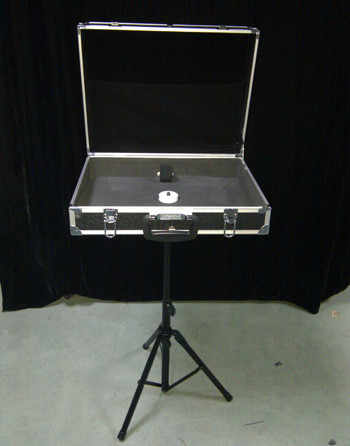 Magic props magician's magic table /Briefcase with table base / Carrying Case table set Accessary