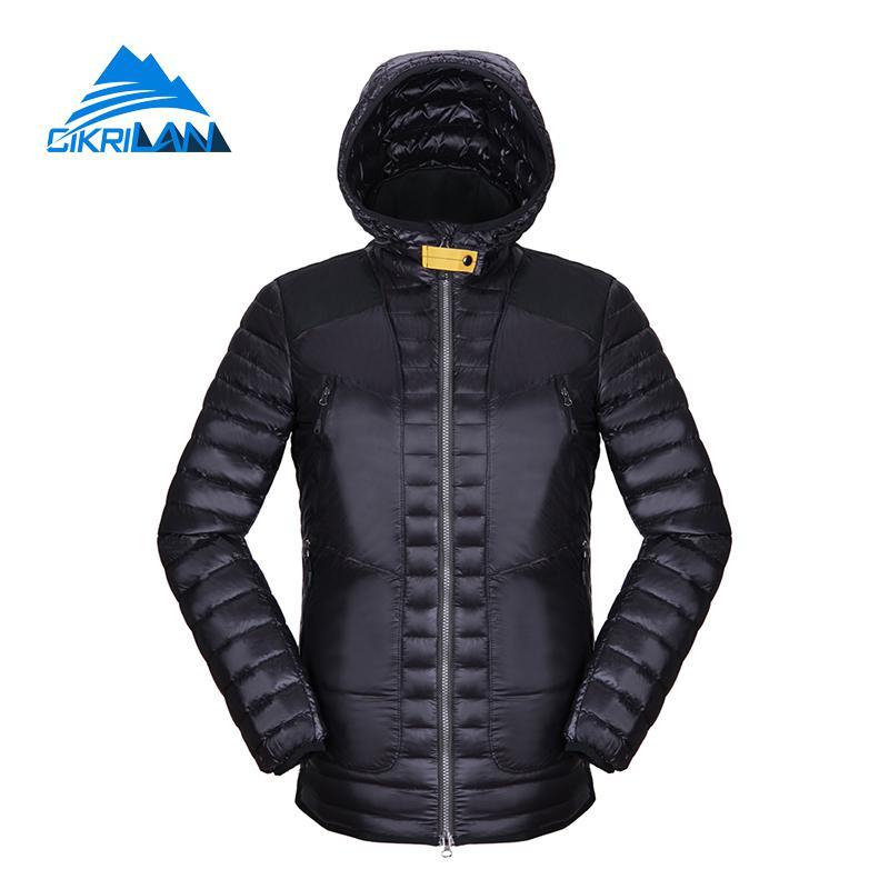 Lightweight Winter Outdoor Puffer Duck Down Jacket Men Hoodie Sports Hiking Camping Jaqueta Masculina Windproof Ski